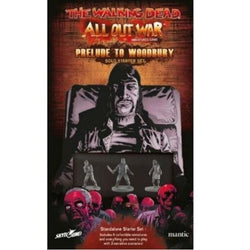 The Walking Dead All Out War: Prelude to Woodbury Solo Starter Miniatures Mantic Entertainment Ltd.