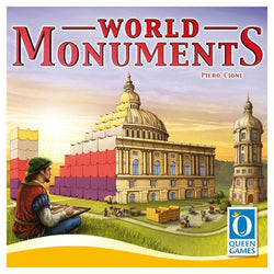 World Monuments Family Board Game CLEARANCE Queen Games