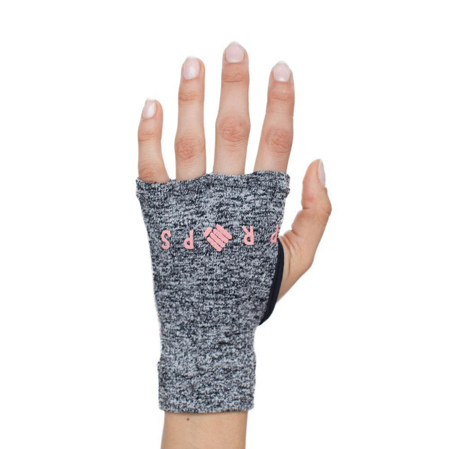 Props Athletics | Grey Peach Staple Workout Gloves