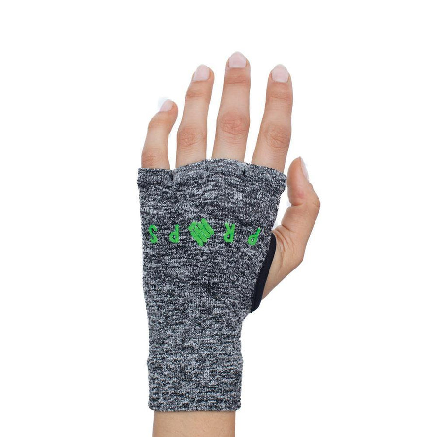 Props Staple Workout Gloves | Grey & Green