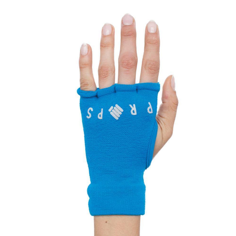 Props Athletics | Bright Blue Staple Workout Gloves