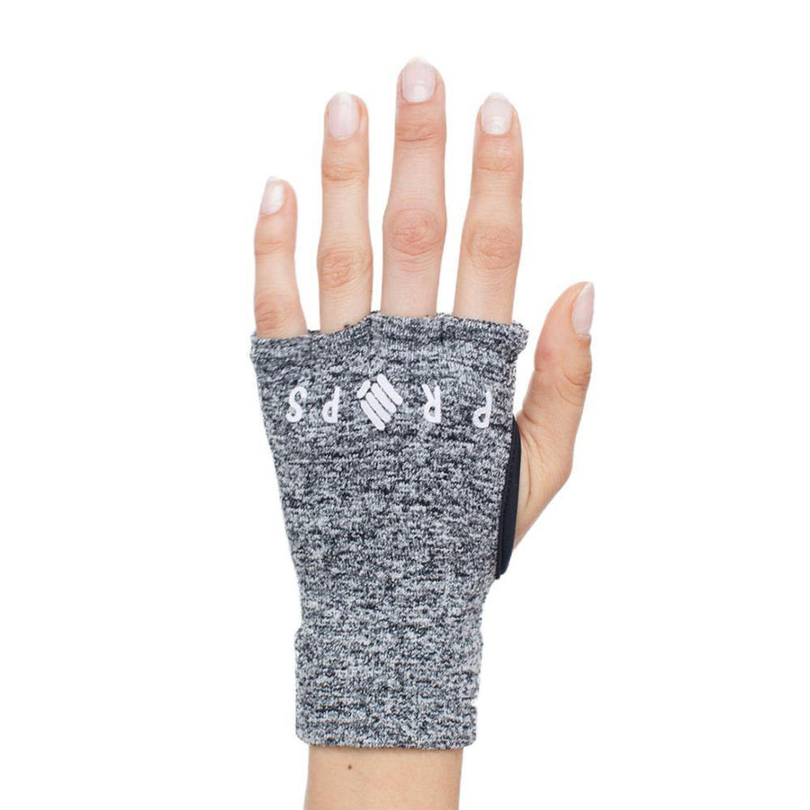 Props Athletics | Grey Purple Staple Workout Gloves
