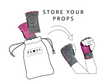 Props Athletics | Pouch bag to store your workout gloves