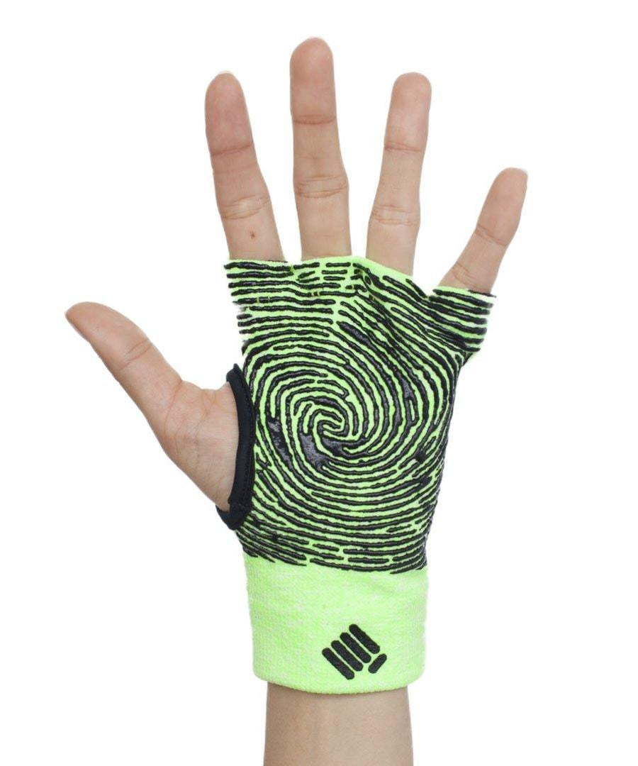 Props Athletics | Neon Green Staple Workout Gloves