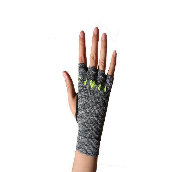 Props Staple Workout Gloves | Grey & Yellow