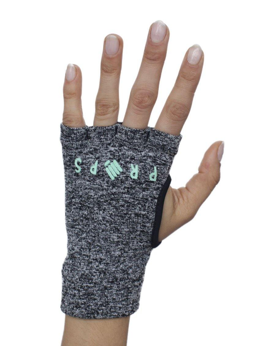 Props Staple Workout Gloves | Grey & Aqua