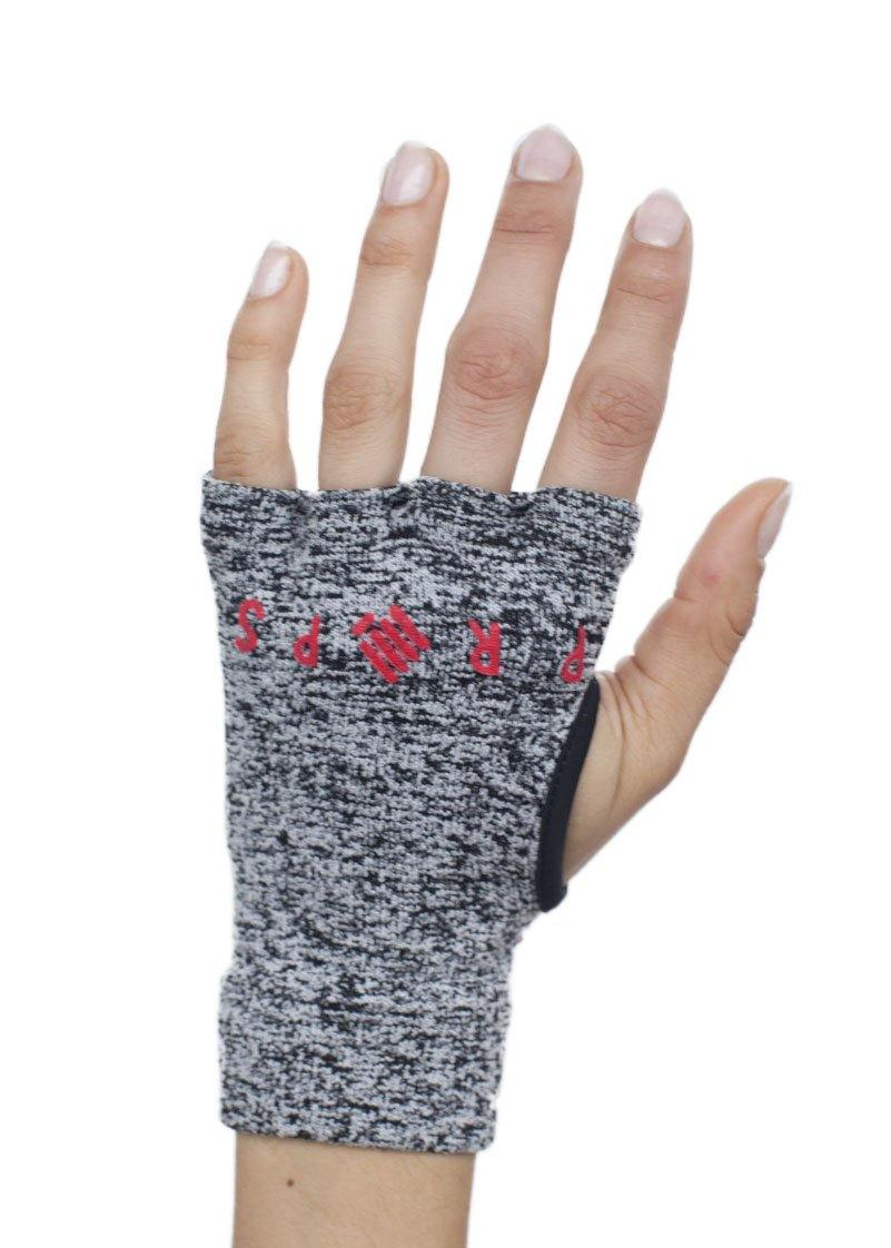 Props Staple Workout Gloves | Grey & Red