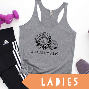 Click Design To See All Ladies Tank, Tee & Long Sleeve Options