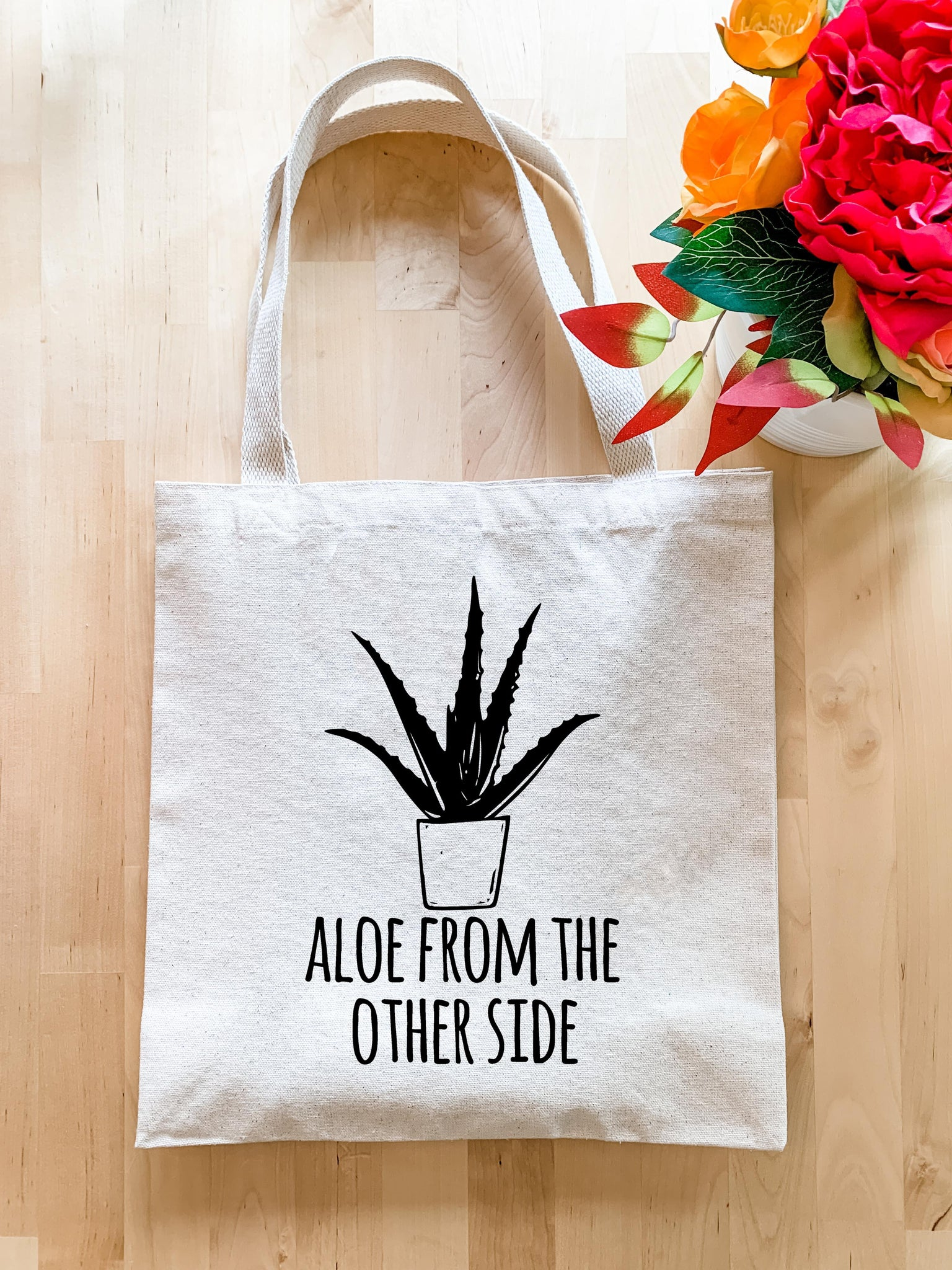 Aloe From The Other Side - Tote Bag - MoonlightMakers