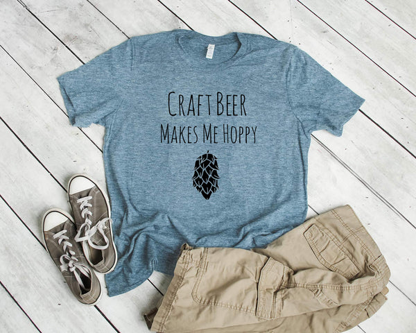 Craft Beer Makes Me Hoppy - MoonlightMakers
