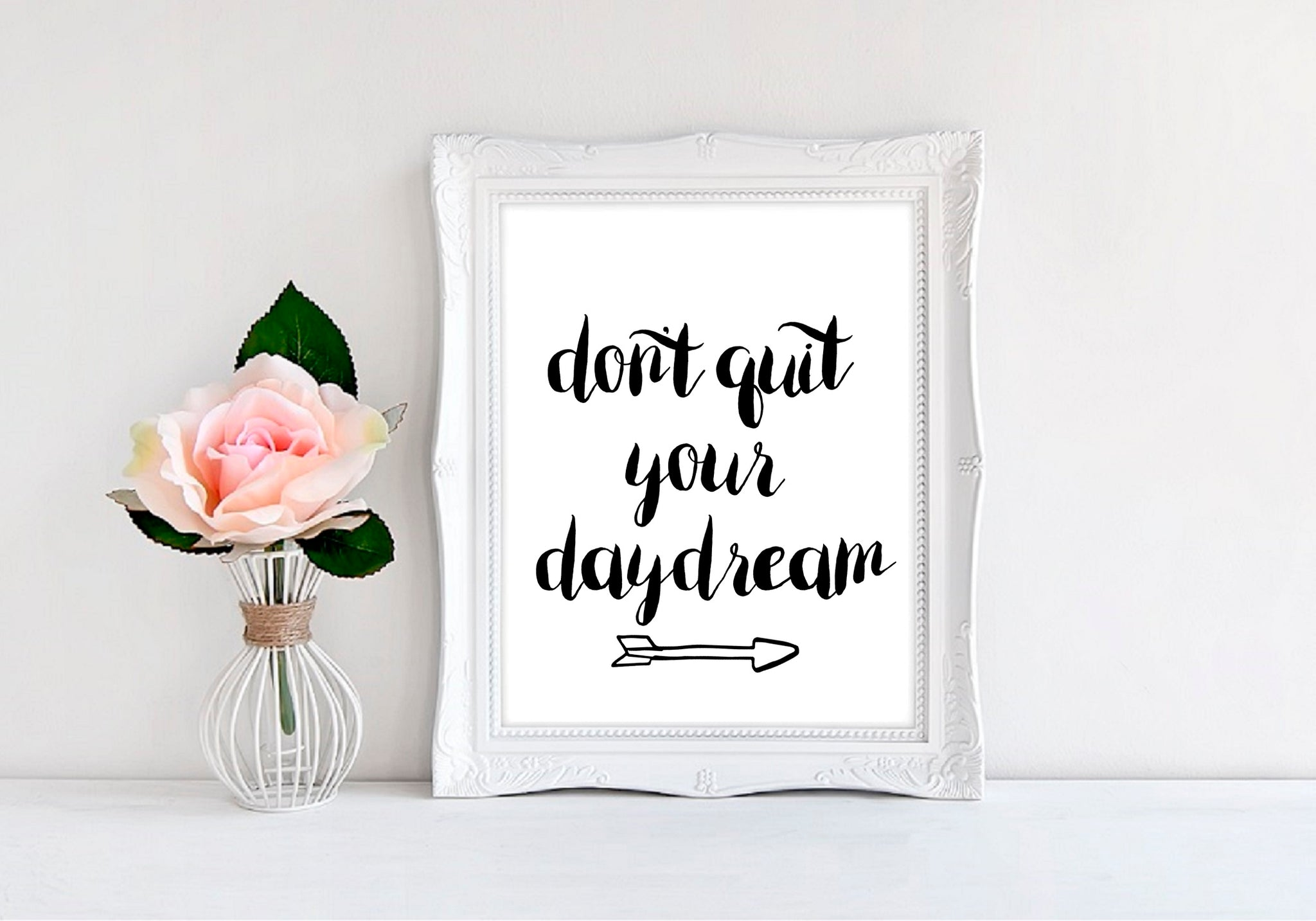 "Don't Quit Your Daydream - 8""x10"" Wall Print - MoonlightMakers"