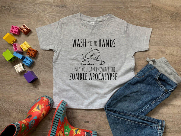 Wash You Hands Only You Can Prevent The Zombie Apocalypse - MoonlightMakers