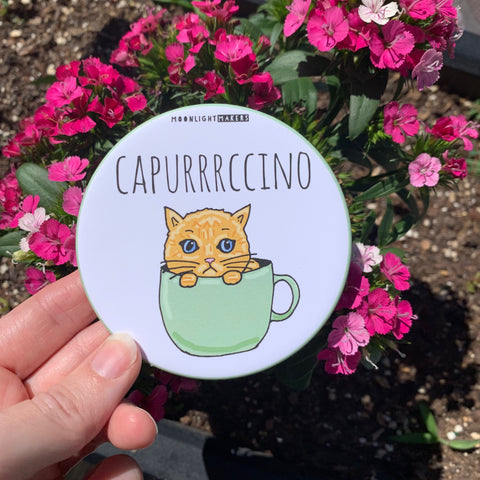 Capurrrccino - Coaster - MoonlightMakers