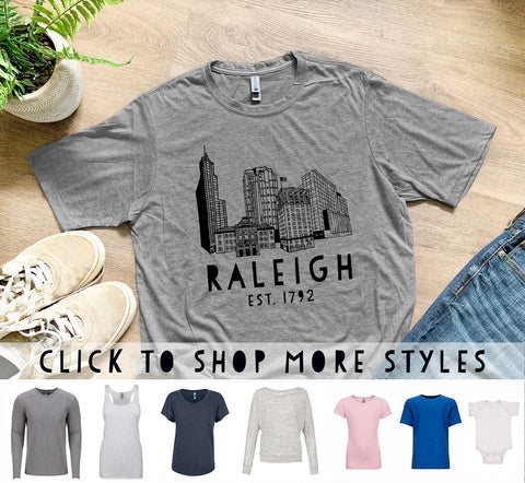 Raleigh Skyline (NC) - MoonlightMakers