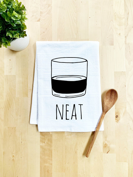 Neat Dish Towel - White Or Gray - MoonlightMakers