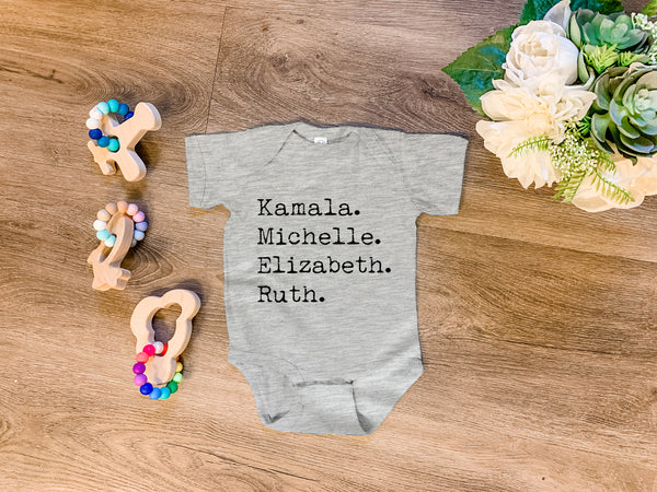 Kamala. Michelle. Elizabeth. Ruth. - MoonlightMakers