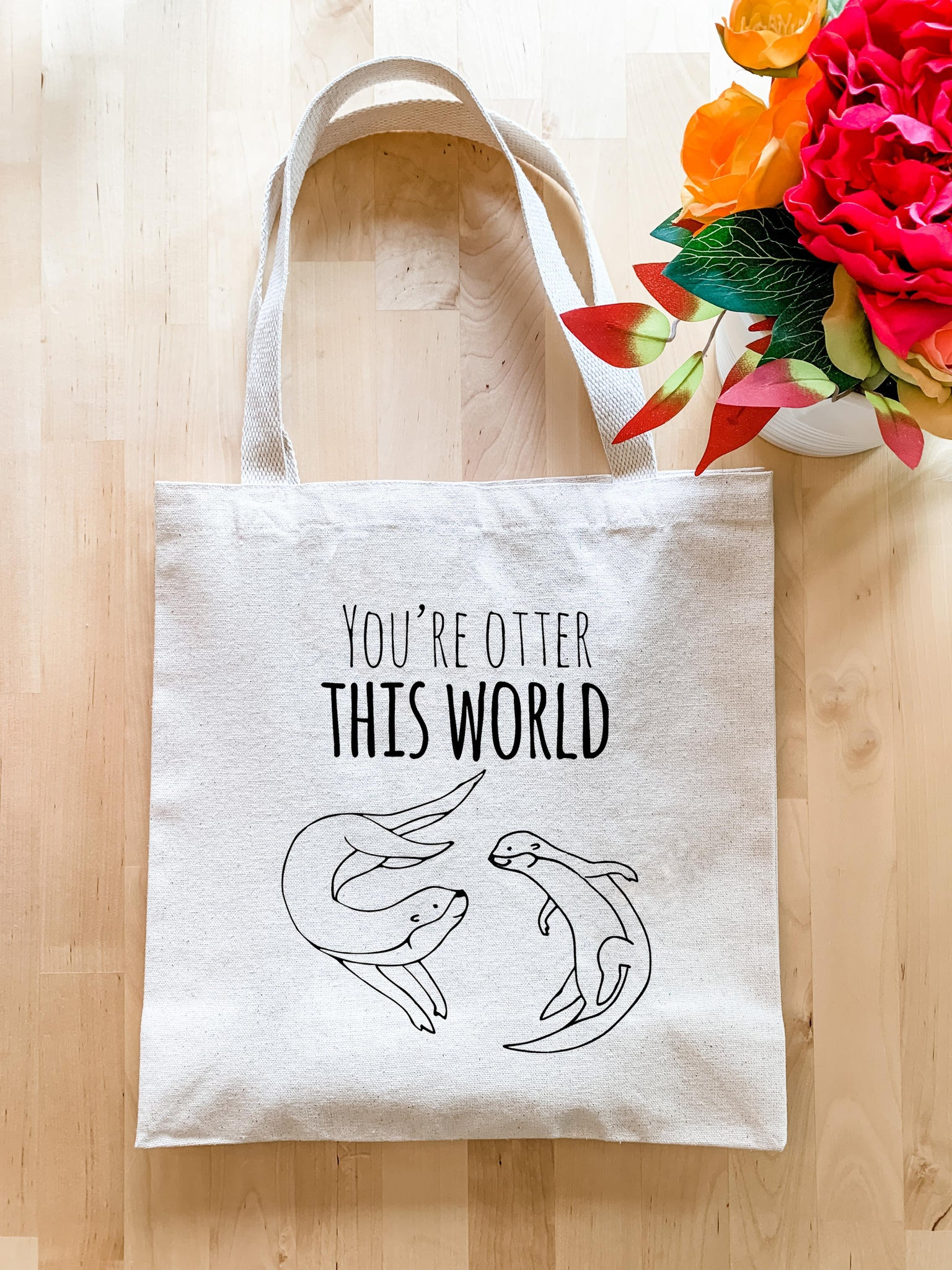 You're Otter This World - Tote Bag - MoonlightMakers