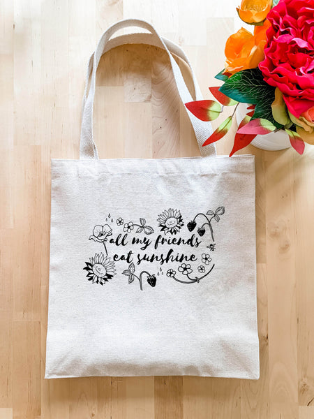 All My Friends Eat Sunshine - Tote Bag - MoonlightMakers