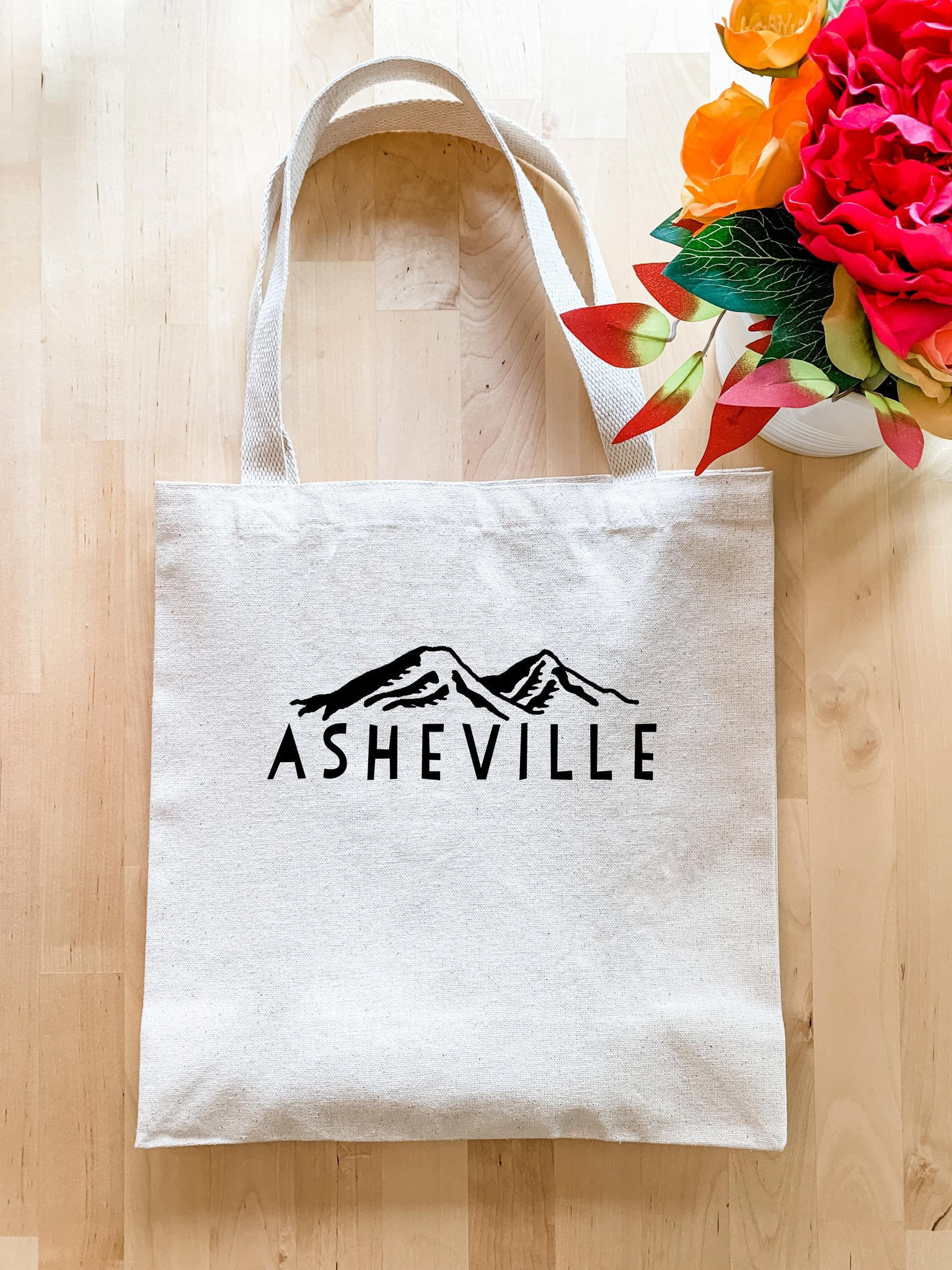 Asheville NC Mountains - Tote Bag - MoonlightMakers