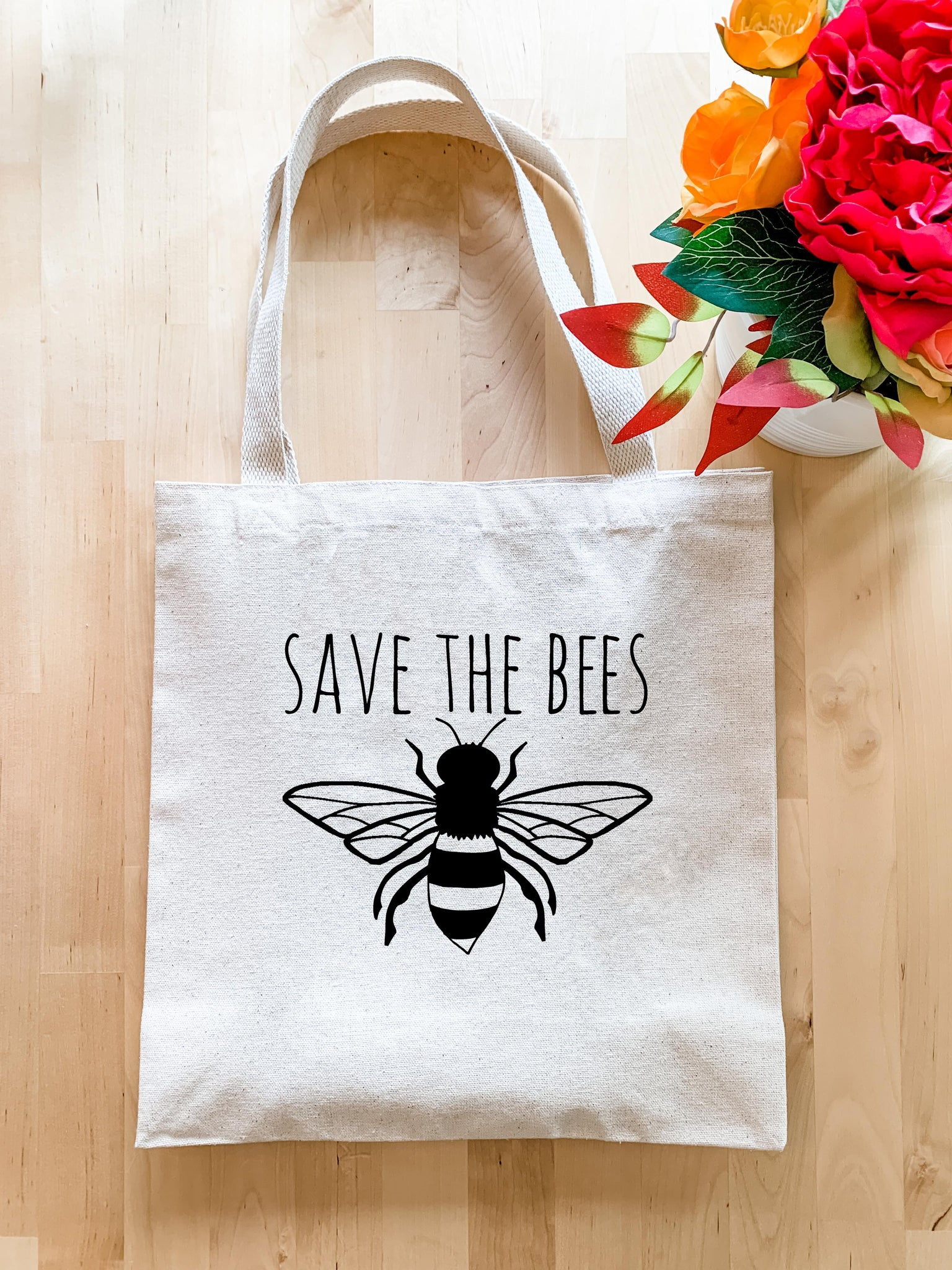 Save The Bees - Tote Bag - MoonlightMakers