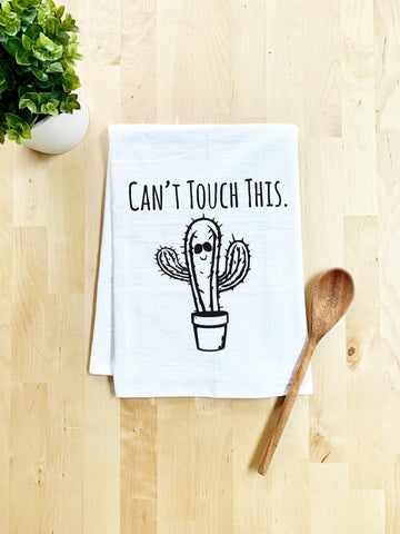 Can't Touch This Dish Towel - White Or Gray - MoonlightMakers