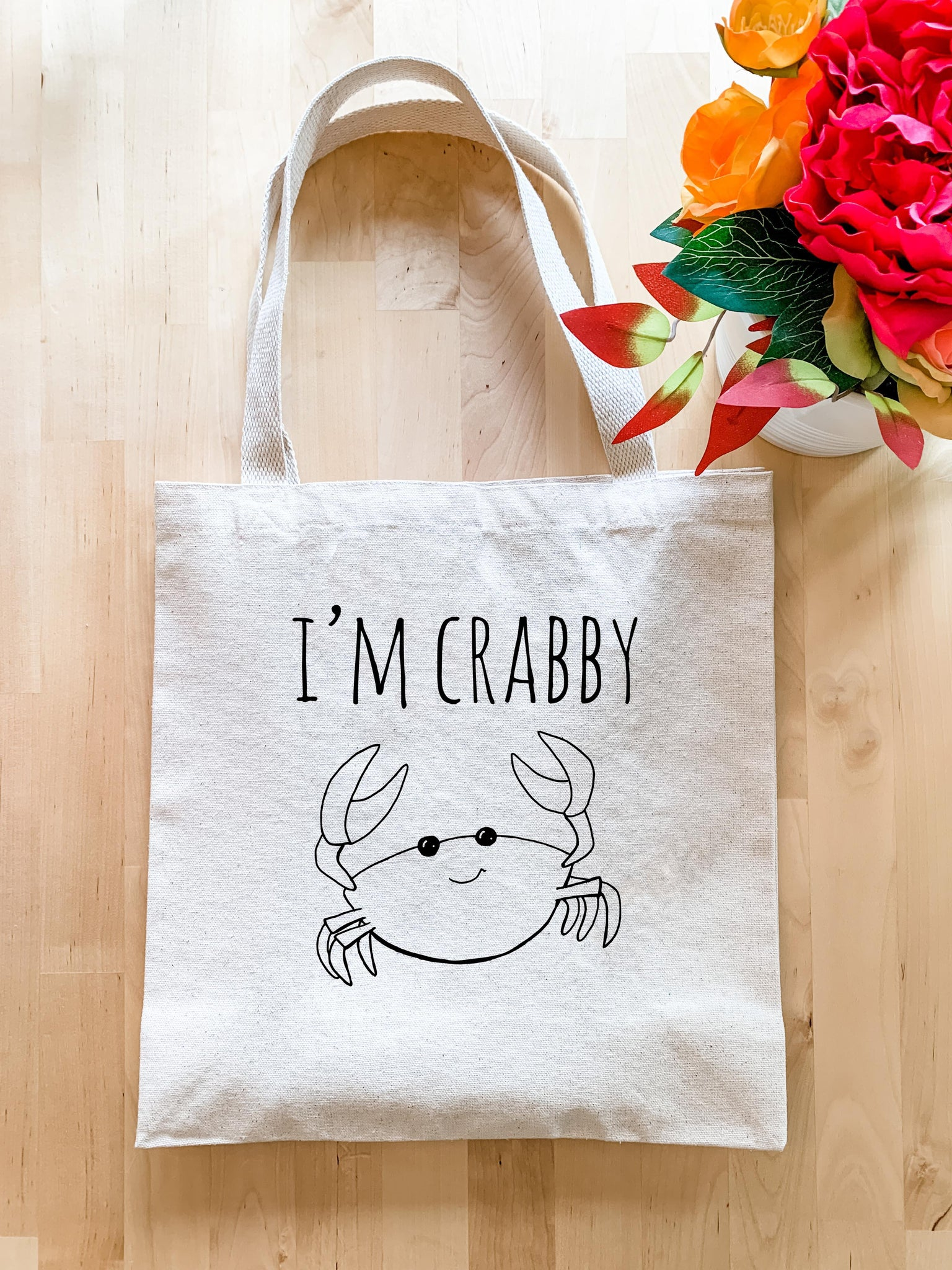 I'm Crabby - Tote Bag - MoonlightMakers