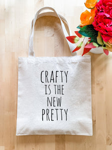 Crafty is the New Pretty - Tote Bag - MoonlightMakers