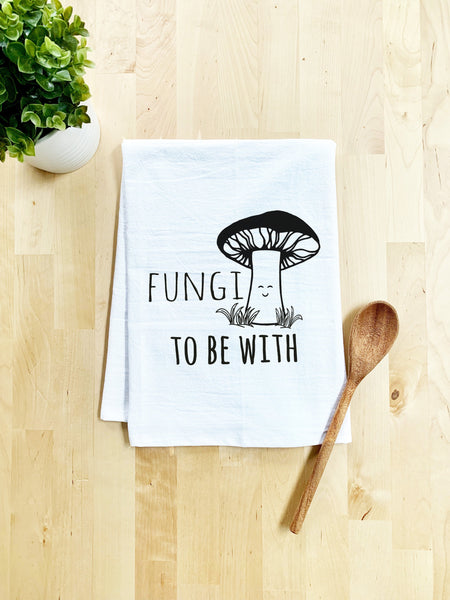 Fungi to Be With Dish Towel - White Or Gray - MoonlightMakers
