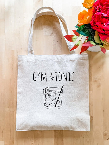 Gym & Tonic - Tote Bag - MoonlightMakers