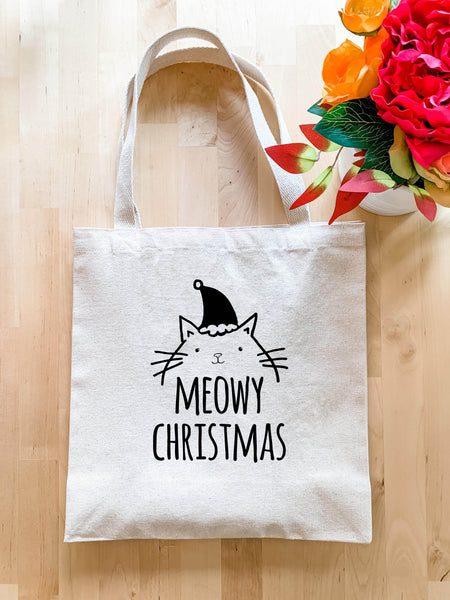 Meowy Christmas - Tote Bag - Sale - MoonlightMakers