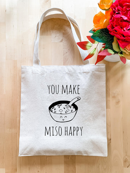 You Make Miso Happy - Tote Bag - MoonlightMakers