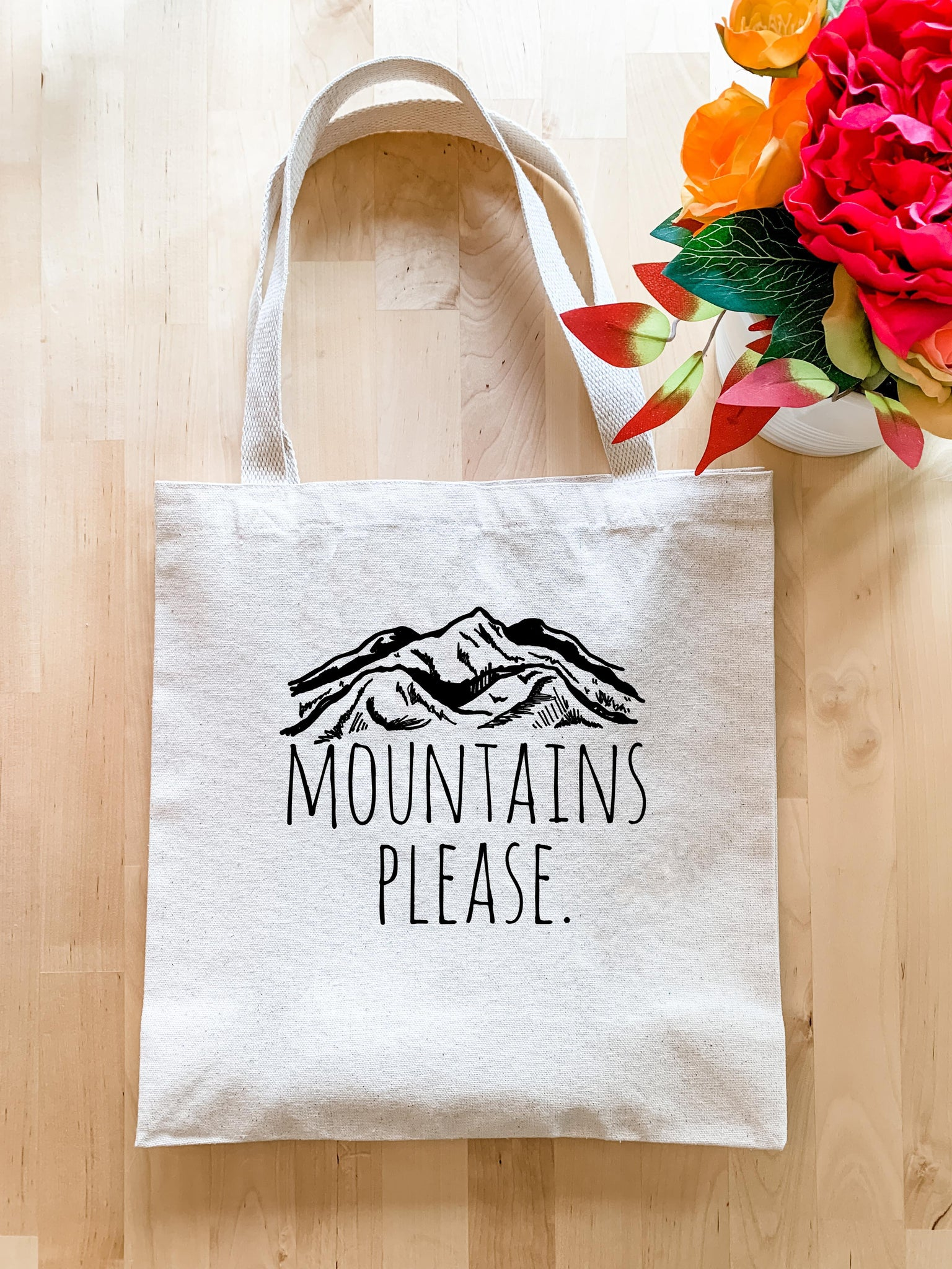 Mountains Please - Tote Bag - MoonlightMakers