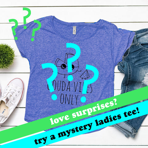 Clearance - Mystery Ladies Dolman Tee! Sale - MoonlightMakers