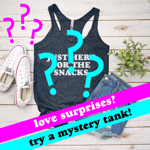 Clearance - Mystery Ladies Tank! Sale - MoonlightMakers