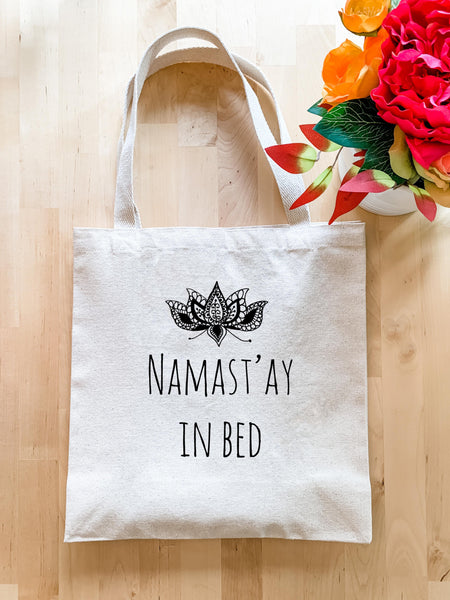 Namast'ay in Bed - Tote Bag - MoonlightMakers