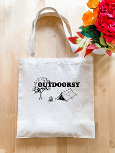 Outdoorsy - Tote Bag - MoonlightMakers
