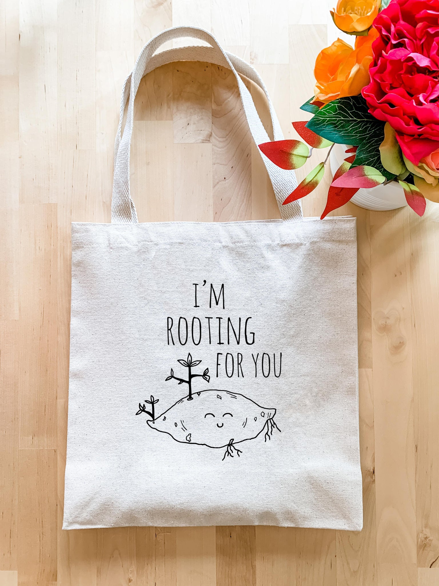 I'm Rooting For You - Tote Bag - MoonlightMakers