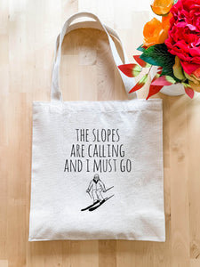 The Slopes Are Calling - Tote Bag - MoonlightMakers