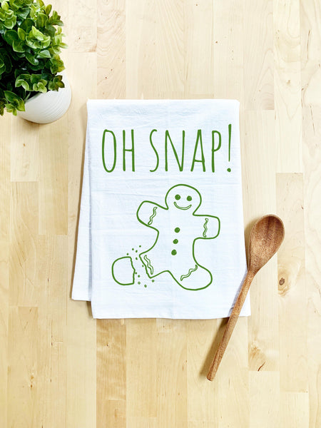 Oh Snap! Dish Towel - White - MoonlightMakers