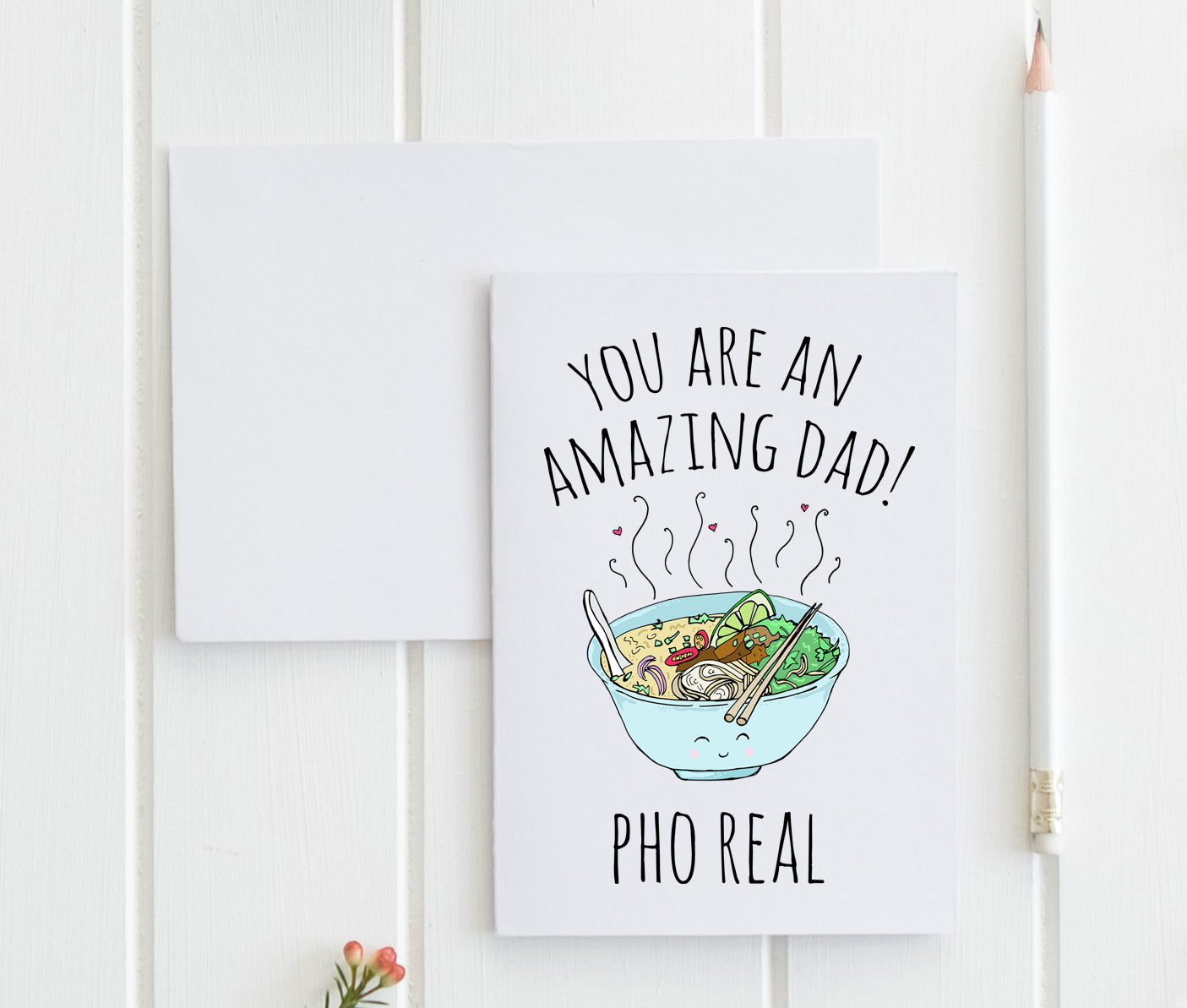You're An Amazing Dad Pho Real - Greeting Card - MoonlightMakers
