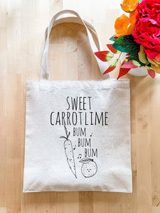 Sweet Carrot Lime - Tote Bag - MoonlightMakers