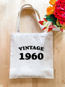 Vintage 1960 - Tote Bag - MoonlightMakers