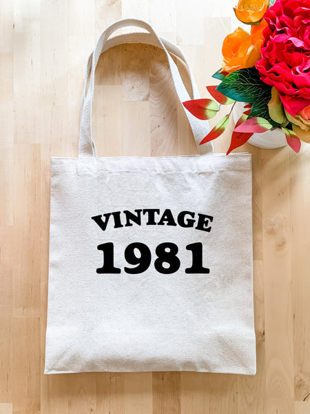 Vintage 1981 - Tote Bag - MoonlightMakers