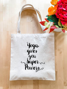 Yoga Gives You Super powers - Tote Bag - MoonlightMakers
