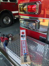 BACK THE RED  Tabletop/Bar Game, Designed to show support for our Firefighters.