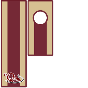The Garnet and Gold Q Flip is great for the Florida State fan.  It is a great addition for your tailgate party.