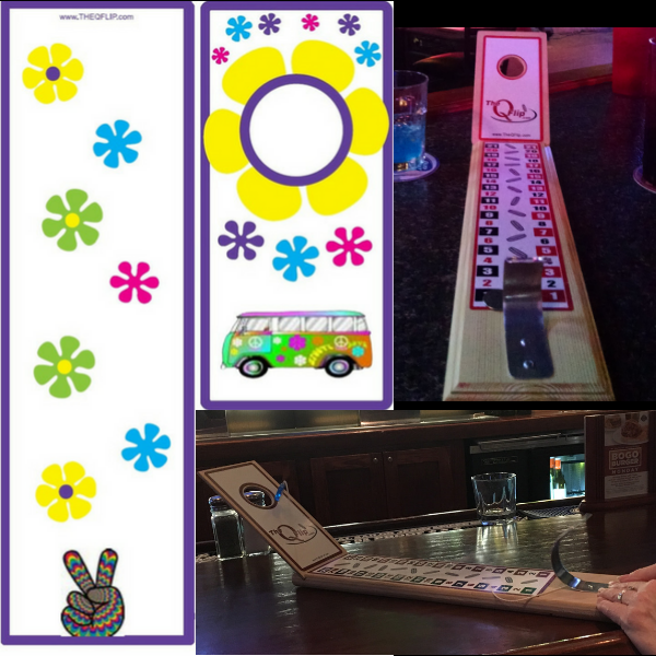 It's Groovy Baby 1 Hole Tabletop/Bar Game