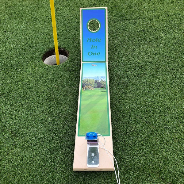You can now practice getting that Hole in One whenever and wherever you want with our Golf themed game.