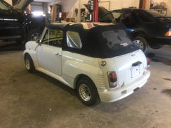 Rare Convertible Mini - LHD, A/C, 1275cc engine, Consignment Sale