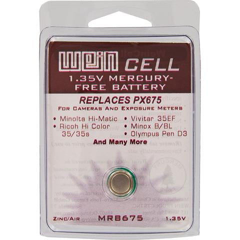 WeinCell Replacement Battery MRB675 (1.35v, Zinc-Air)